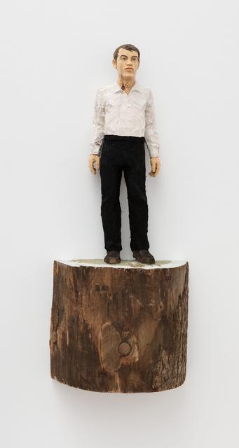 , 'Mann mit weißem Hemd und schwarzer (Hose / Man with white shirt and black trousers),' 2015, Moscow Museum of Modern Art