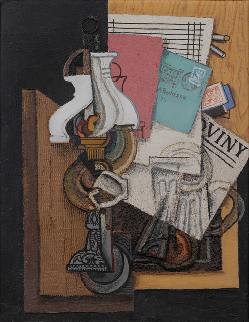 , 'Still Life with Oil Lamp,' 1921, Adolf Loos Apartment and Gallery