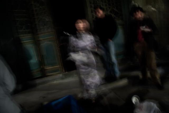 , 'Woman in raincoat,' 2008, ILEX Gallery