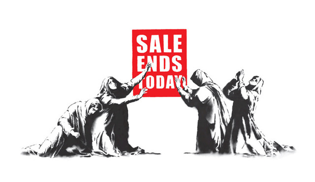 Banksy, 'Sale Ends', 2006, Hexagon Gallery