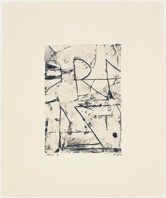Richard Diebenkorn, 'Untitled', 1991, Gemini G.E.L. at Joni Moisant Weyl