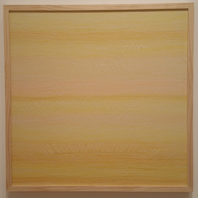 Inkyo Back, 'H.A.Z.E. (yellow)', 2015, Michael Warren Contemporary