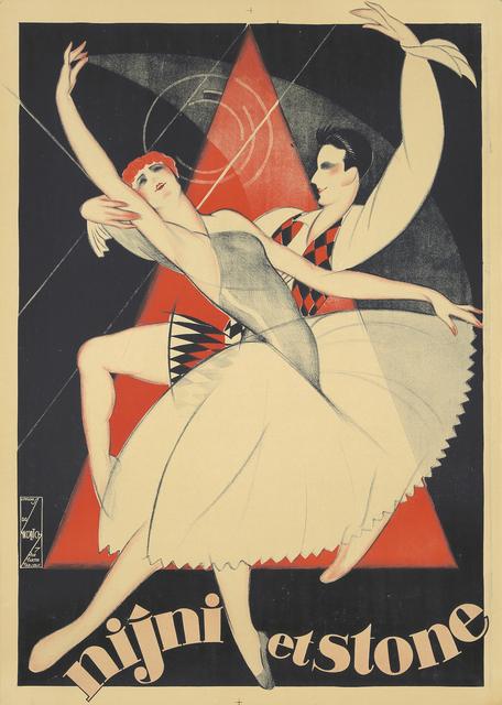 Obrad Nicolitch, 'Nijni et Stone', ca. 1930, Rennert's Gallery