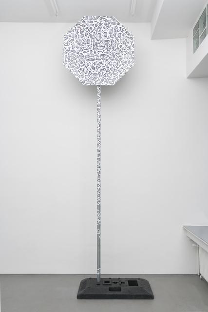 , 'LabStVO VI (STOP),' 2016, PPC Philipp Pflug Contemporary