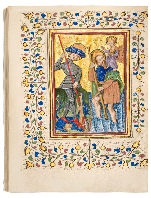 , 'Duyst van Voorhout Book of Hours, use of Utrecht,' 1450-1460, Dr. Jörn Günther Rare Books