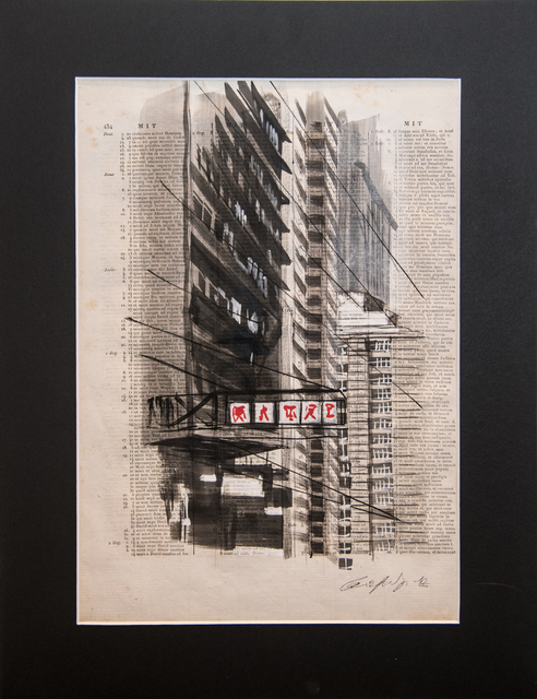 Guiyome, 'no title', 2012, Drawing, Collage or other Work on Paper, Gouache on paper, Collezionando Gallery