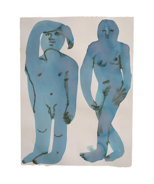 , 'Blue Twins,' 2018, HARPY