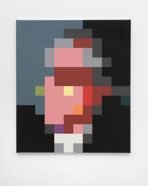 , 'Portrait of an older man,' 2013, FELD+HAUS