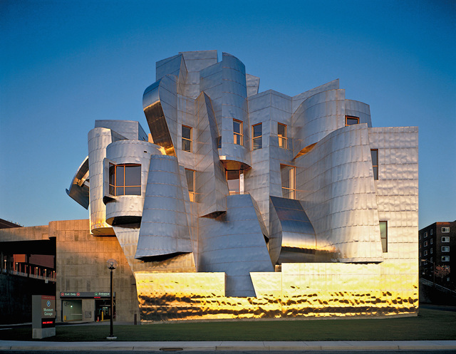 , 'Frederick R. Weisman Art and Teaching Museum, View of the West Elevation, Minneapolis, Minnesota,' 1990, 1993, 2009, 2011, Los Angeles County Museum of Art