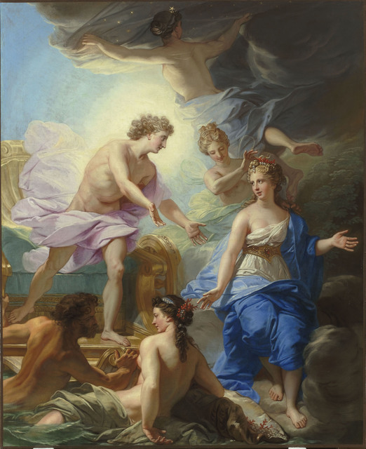 , 'Apollon et Thetys (Apollo and Thetis),' 18th century, Château de Versailles