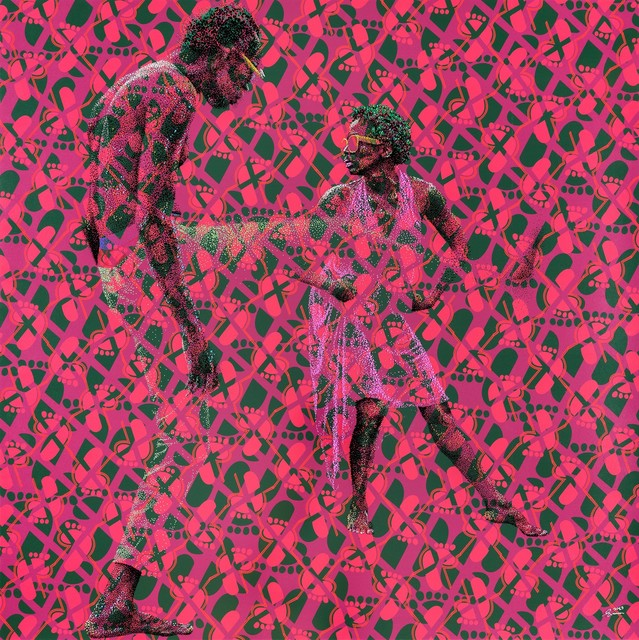 Evans Mbugua, 'Swoosh and Tiptoe Pink ', 2019, Out of Africa Gallery