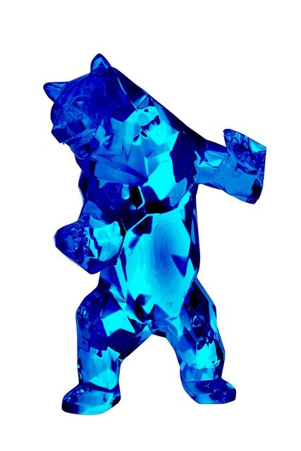 , 'Wild Bear Crystal Clear (Red, Blue),' 2016, Inception Gallery