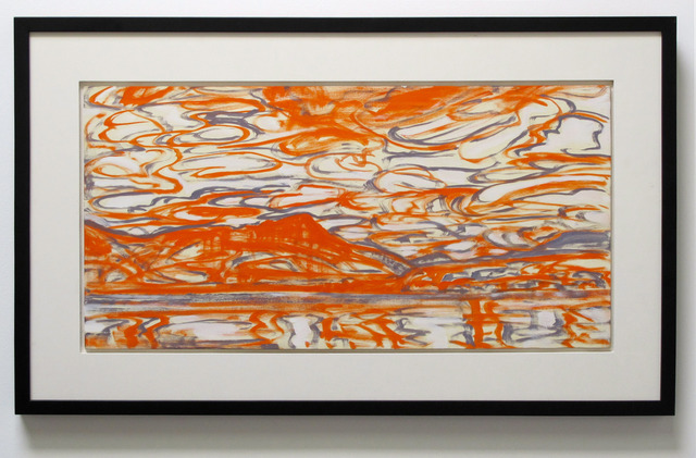 , 'Untitled/Orange/Landscape,' 2012, Wilding Cran Gallery