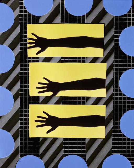 , 'Reach (Blue),' 2016, Galerie Christophe Gaillard