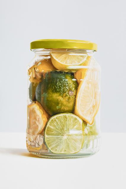 , 'Lemons and Limes in a Jar,' 2018, Gormleys Fine Art