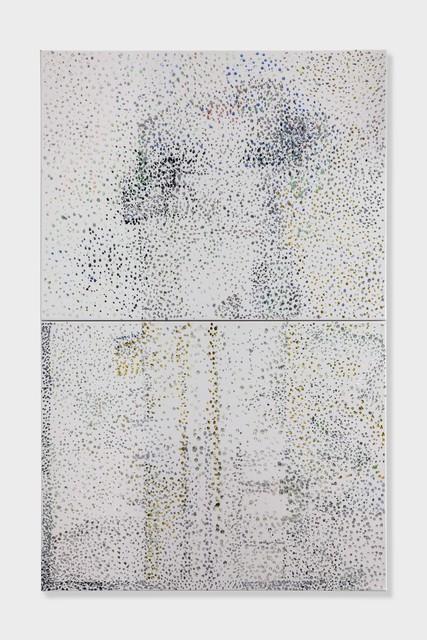 , 'DANS LA RUE (56 LEONARD) 2017 Peinture acrylique,' 2017, Galerie Chantal Crousel