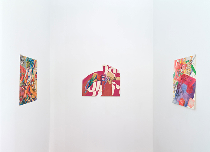 Roland Reiss: Je T'aime - Recent Paintings + Drawings From The 1960's installation view (Diane Rosenstein Gallery, Los Angeles)