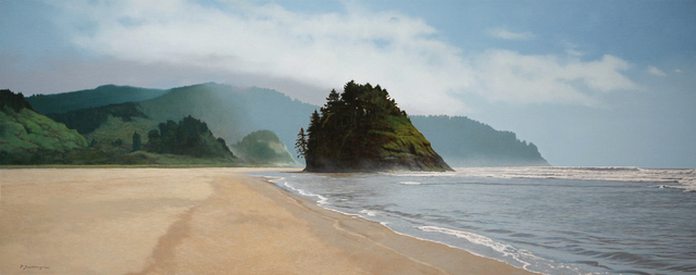 Peter Sculthorpe, 'Proposal Rock to Cascade Head', 2016, Painting, Oil on linen, Somerville Manning Gallery