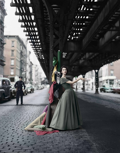 , 'Dovima Under the El, Dior,' 1956, Staley-Wise Gallery