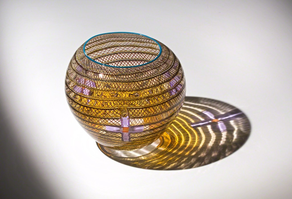 """Stitched Basket"" by Dan Friday (Lummi) 