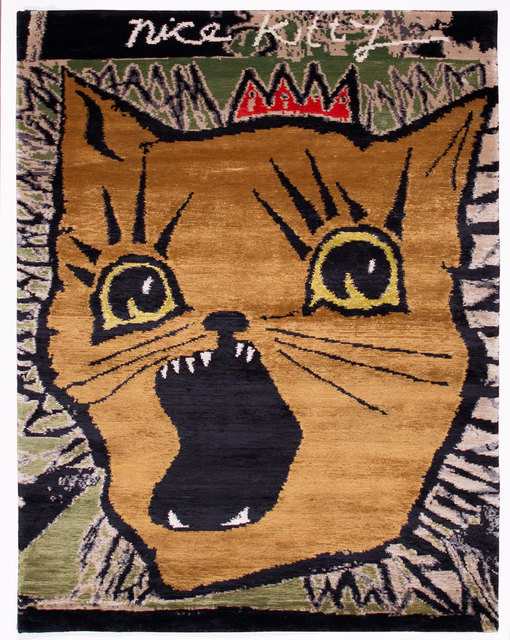 , 'Nice Kitty,' 2014, Joseph Carini Carpets