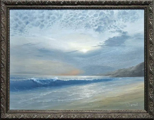 , 'Pearly Coast,' , Art Gallery Pure