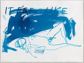 Nude Blue II