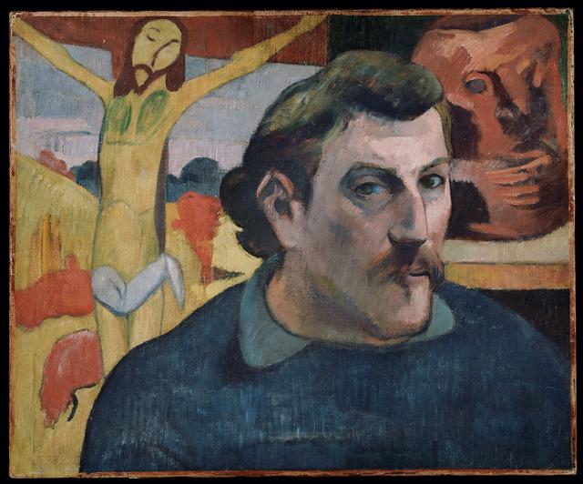 , 'Autoportrait au christ jaune,' 1890-1891, RMN Grand Palais