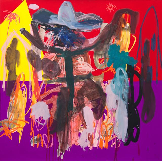, 'The rider,' 2018, Galerie Krinzinger