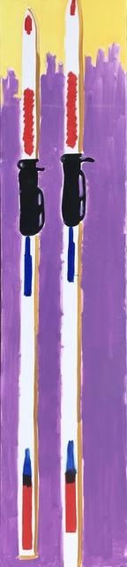 Dominykas Sidorovas, 'The skis leaned against the wall. ', 2019, Galerija VARTAI