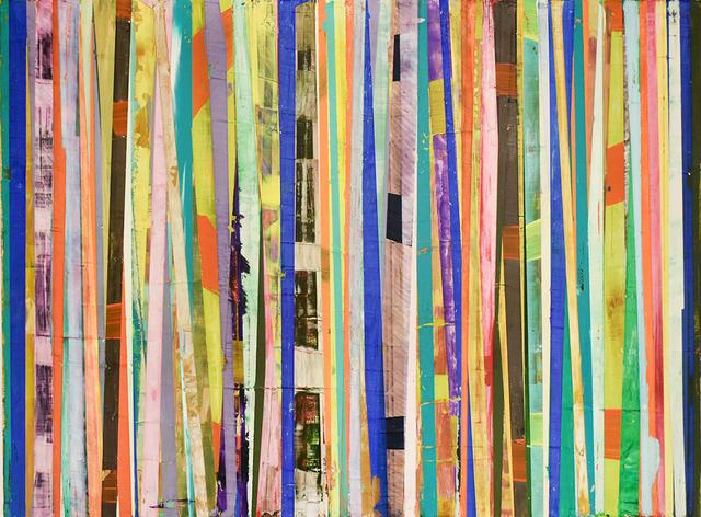 , 'Bar-code,' 2018, Carrie Haddad Gallery