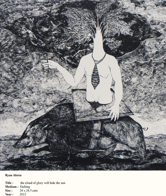 Ryan Abreu, 'The cloud of Glory will hide the Sun', 2013, Dhi Artspace
