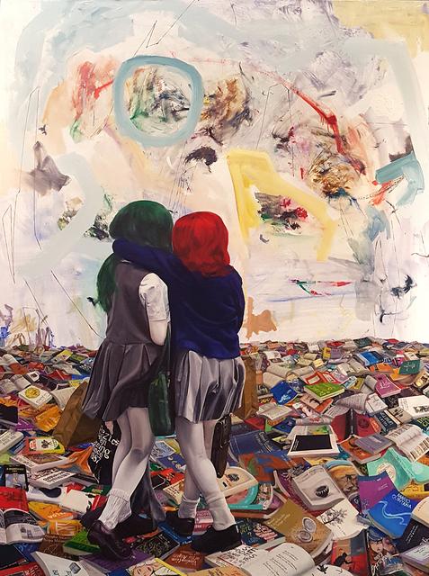 , 'Seven Seas III,' 2016, Galeria Movimento