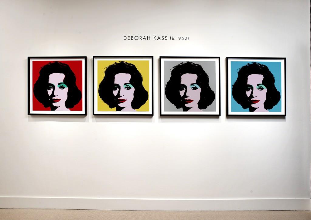 Katz & Kass installation at Meyerovich Gallery, San Francisco