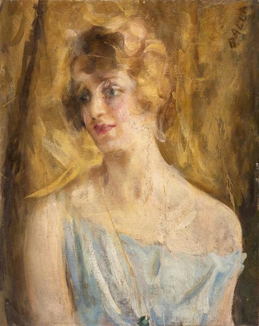 Giacomo Balla, 'Ritratto Femminile', 1922 circa, Itineris