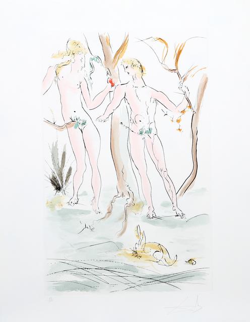 Salvador Dalí, 'Adam et Eve from the Homage a Albrecht Durer Suite', 1971, RoGallery
