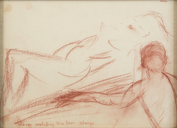 Marilyn Monroe, 'Lover watching his love sleep,' c. 1960, Julien's Auctions: Marilyn Monroe