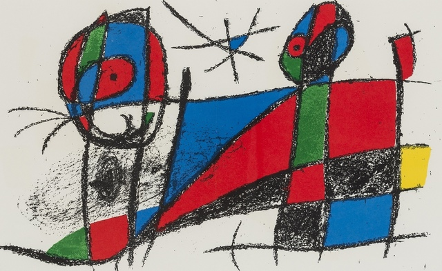 Joan Miró, 'One plate from 'Joan Miro Lithographe II' (Cramer Books 198)', 1975, Forum Auctions