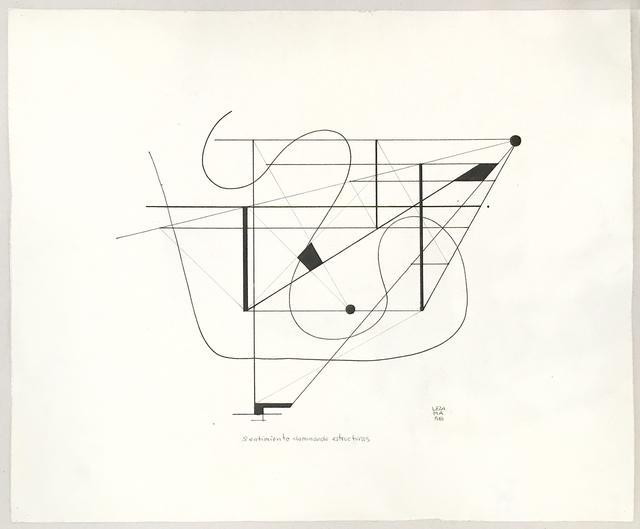 , 'Sentimiento dominando estructuras,' 1958, Aldo de Sousa Gallery