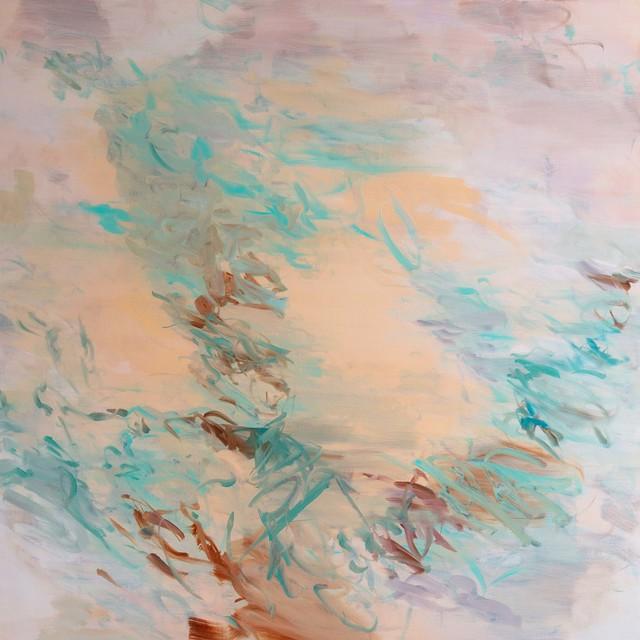 , 'Untitled (pale peach),' 2017, Cadogan Contemporary