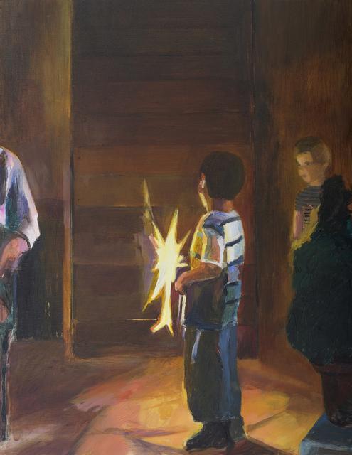 , 'Fireworks 11,' 2013, Dvir Gallery
