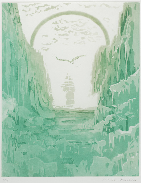 , 'And ice, mast-high, came floating by, as green as emerald,' 1976, Redfern Gallery Ltd.