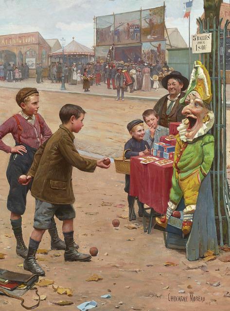 Paul Chocarne-Moreau, 'Au Plus Adroit (T0 the Most Skillful)', 1905,  M.S. Rau Antiques
