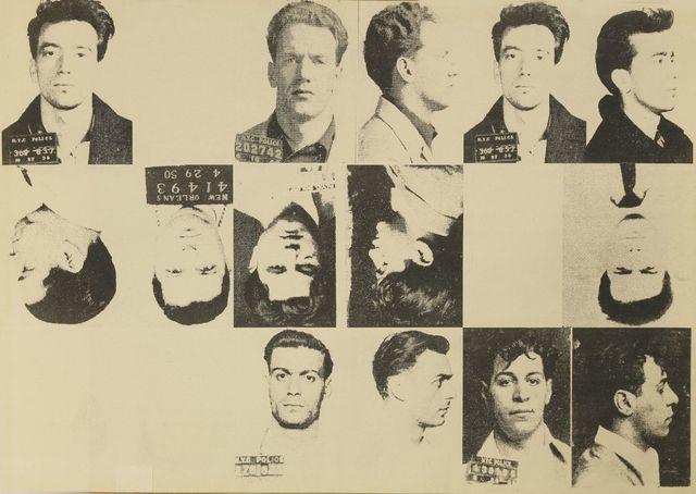 Andy Warhol, 'Dossier No 2357 - The Thirteen Most Wanted Men', 1967, Sworders