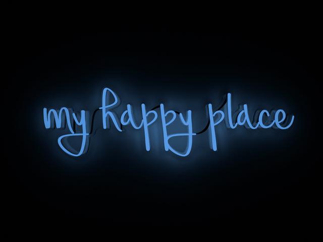 , 'my happy place,' 2017, Contempop Gallery