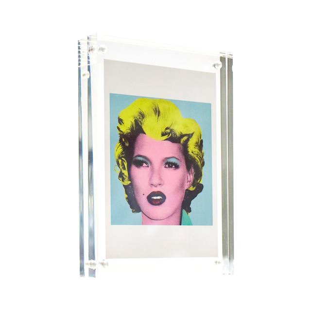Banksy, 'KATE Crude Oils Showcard / Postcard (Framed)', 2005, Ephemera or Merchandise, Offset litograph printed in colors on postcard paper stock, Silverback Gallery