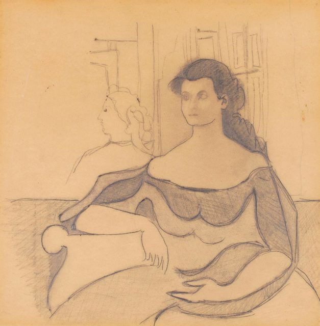 , 'Study for Marya,' ca. 1943, Allan Stone Projects