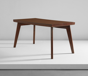 Dining table, model no. PJ-TA-01-A, designed for the Post-Graduate Institute cafeteria and private residences, Chandigarh