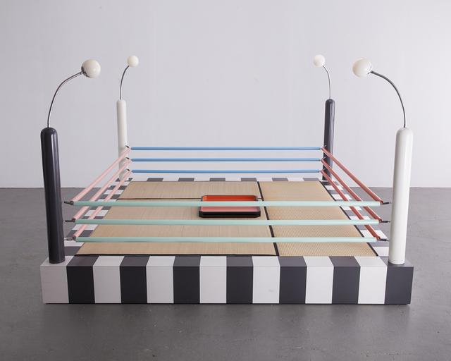 """, '""""Tawaraya"""" boxing ring sculptural seating unit. ,' 1981, R & Company"""