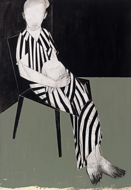 , 'Cecile (striped lady),' 2016, Alex Daniels - Reflex Amsterdam